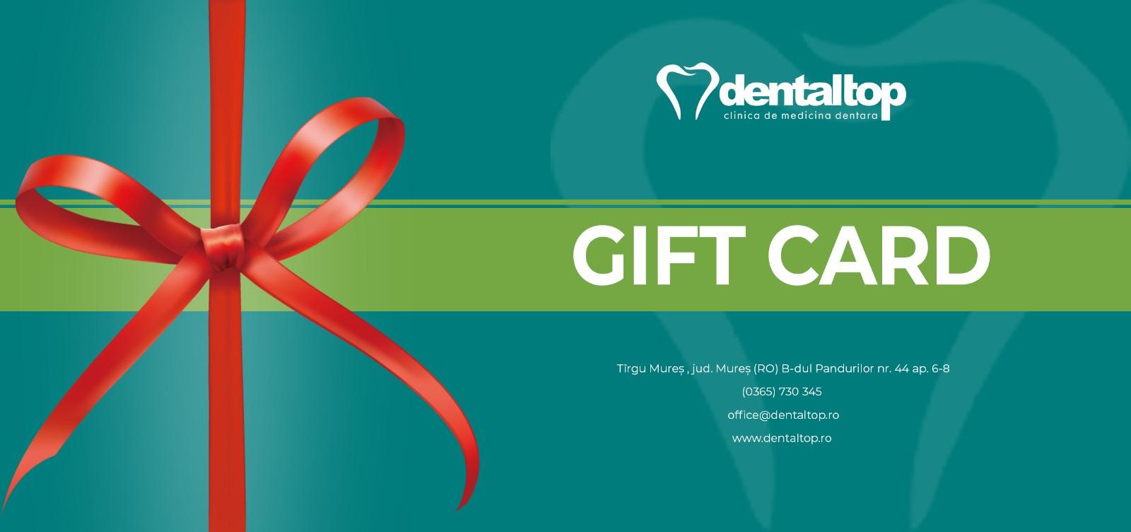 Gift Card Dentaltop